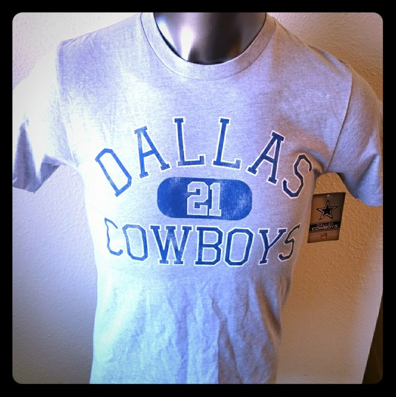 lowest price 05174 099d2 Dallas Cowboys Zeke Elliott Jersey T Shirt NWT NWT
